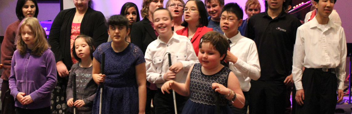 Kids Singing 'I See Differently' at the 2014 Gala Fundraiser