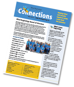 Blind Beginnings Connections Newsletter