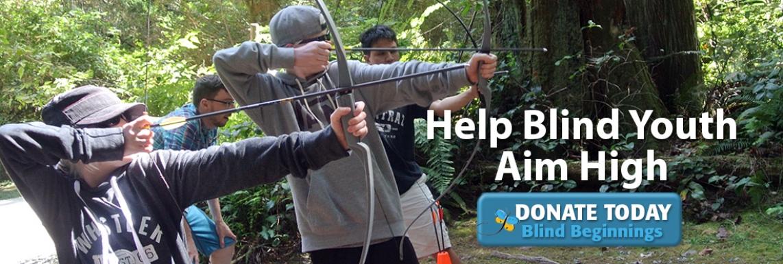 Help Blind Youth Aim High