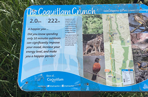 2nd group training: Coquitlam Crunch