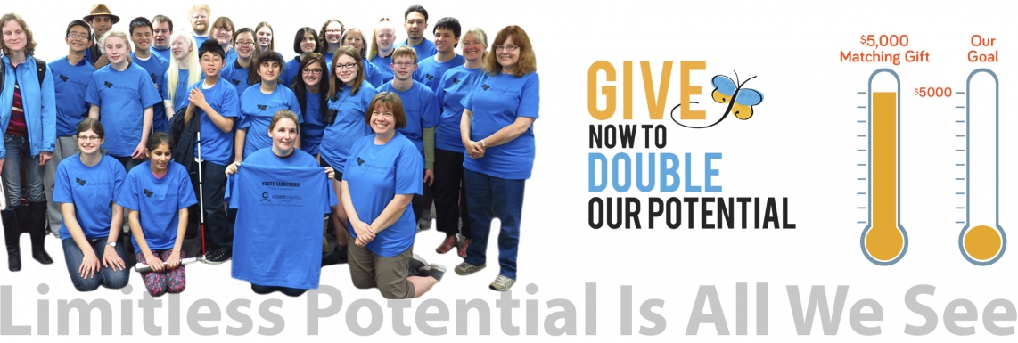 Give Now To Double Our Potential