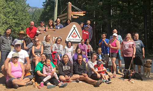 Blind Beginnings Family Adventure Camp