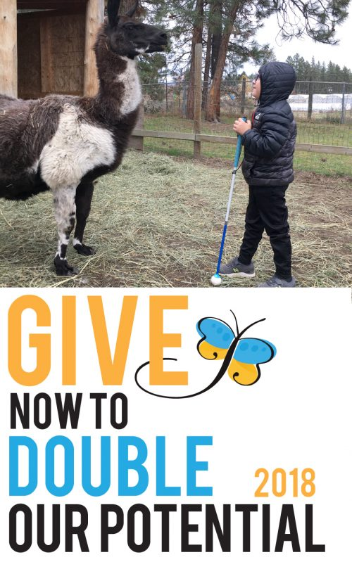 Blind Beginnings Give Now 2018 Monthly Donation