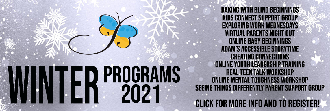 Check out our new Winter 2021 Programs! Click for more information!